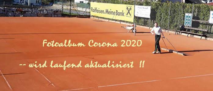 Tennisplatz Corona 2020